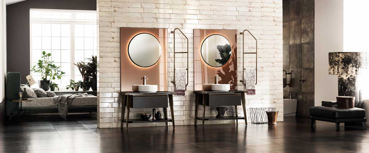 Scavolini Bathroom on sale | DIESEL | Restelli Milan and Como