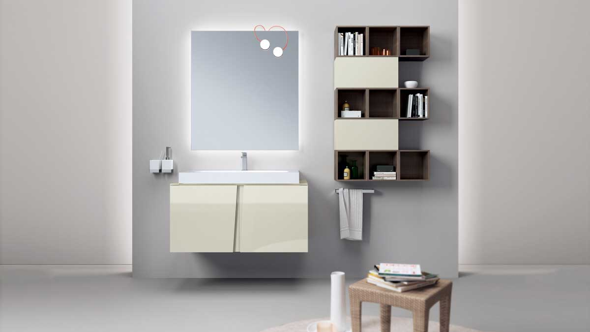 Scavolini Bathroom on sale | LAGU | Restelli Milan and Como