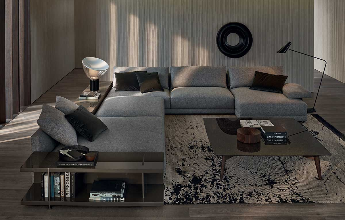 Poliform Sofas and accessories on sale | BRISTOL | Restelli Milan and Como