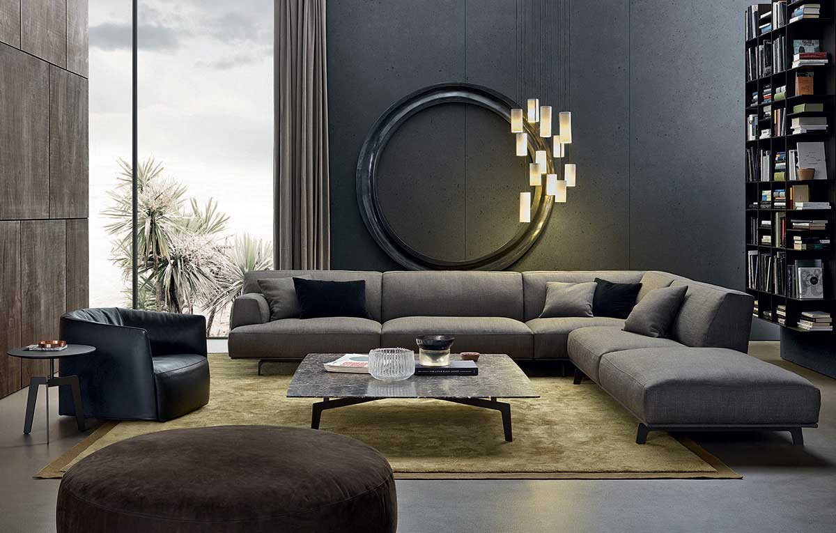 Poliform Sofas and accessories on sale | TRIBECA | Restelli Milan and Como