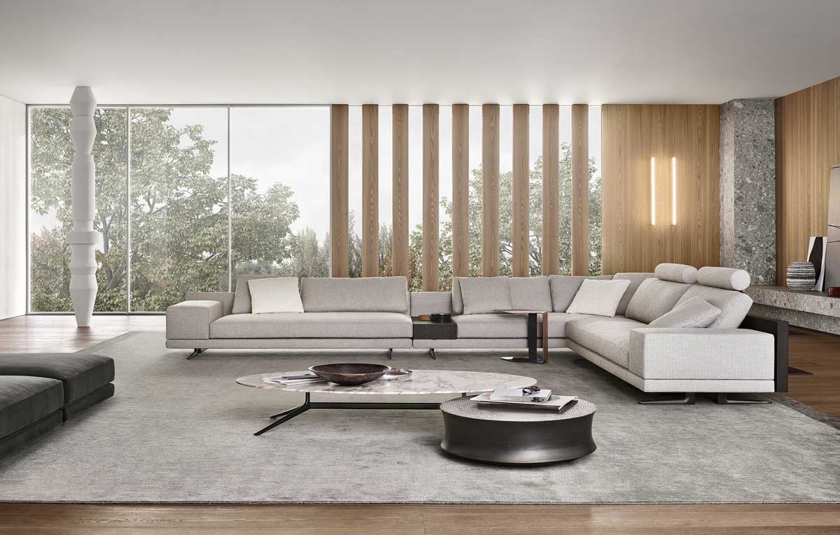 Poliform Sofas and accessories on sale | MONDRIAN | Restelli Milan and Como