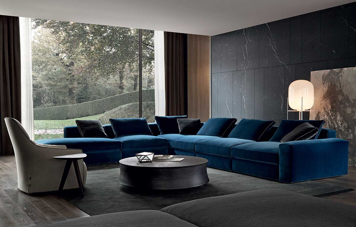 Poliform Sofas and accessories on sale | DUNE | Restelli Milan and Como