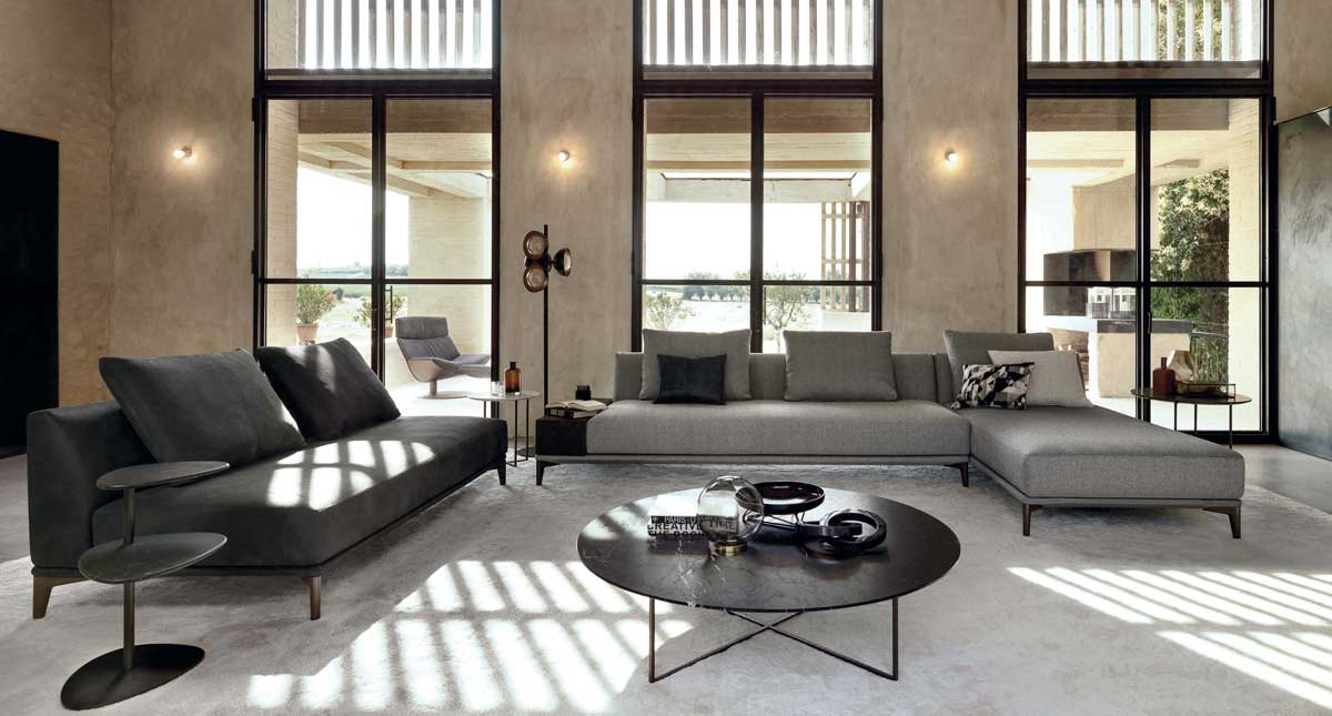 desirèe Sofas and accessories on sale | OVERPLAN | Restelli Milan and Como