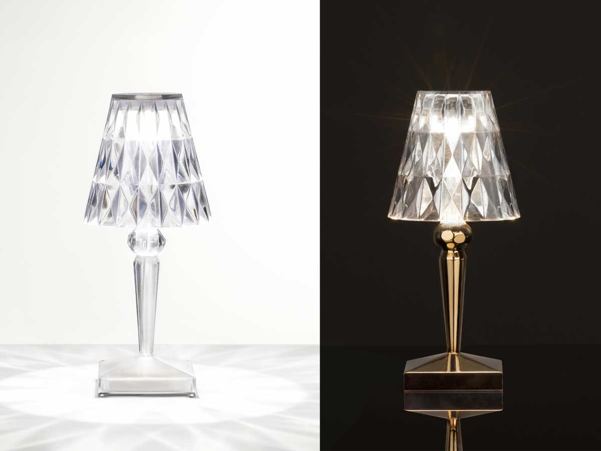 Kartell Lighting on sale | BATTERY | Restelli Milan and Como