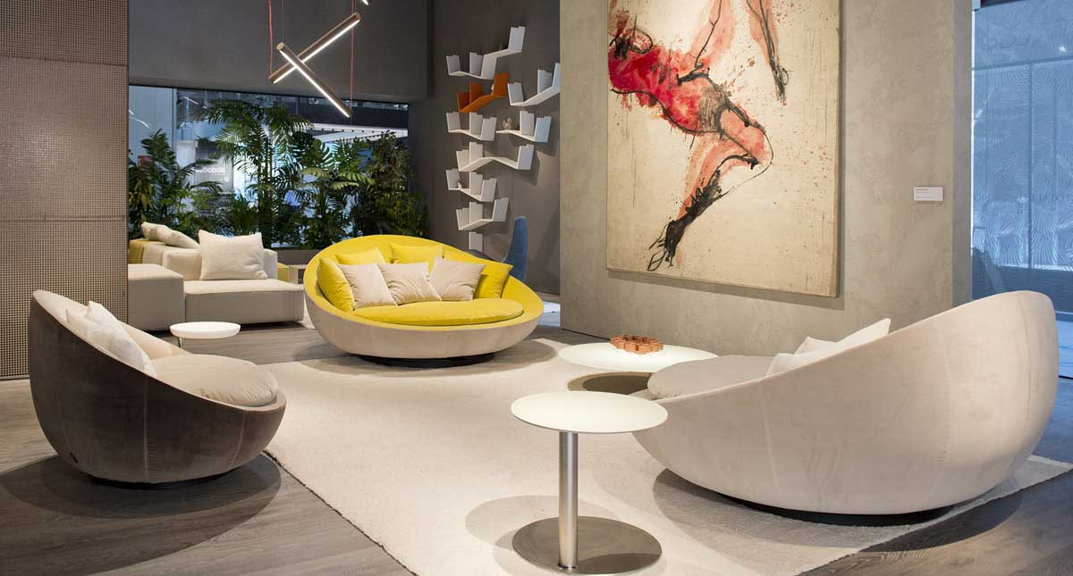 desirèe Sofas and accessories on sale | LACOON | Restelli Milan and Como