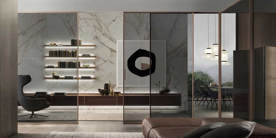 Rimadesio Doors on sale | VELARIA | Restelli Milan and Como