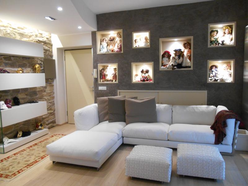 Soluzioni arredamento casa piccola realizzazioni restelli - Soluzioni economiche per arredare casa ...