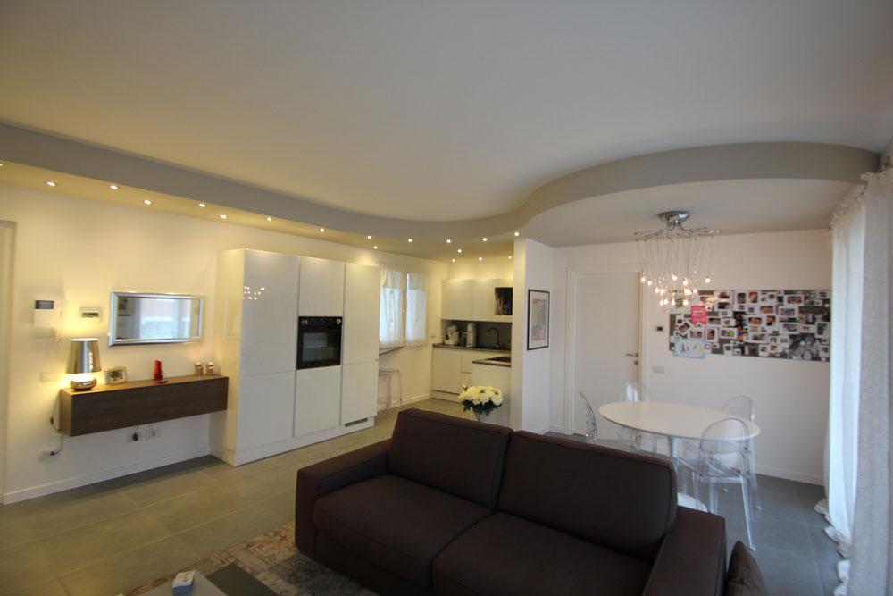 Esempio arredamento casa da 50 a 100 mq progetto restelli for Esempi di arredamento