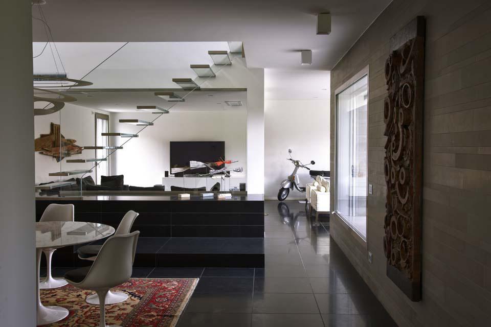 Idee per arredare piccolo soggiorno con angolo cottura ...