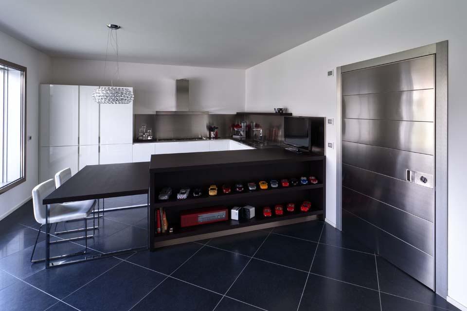 Idee per arredare piccolo soggiorno con angolo cottura - Restelli arredamenti