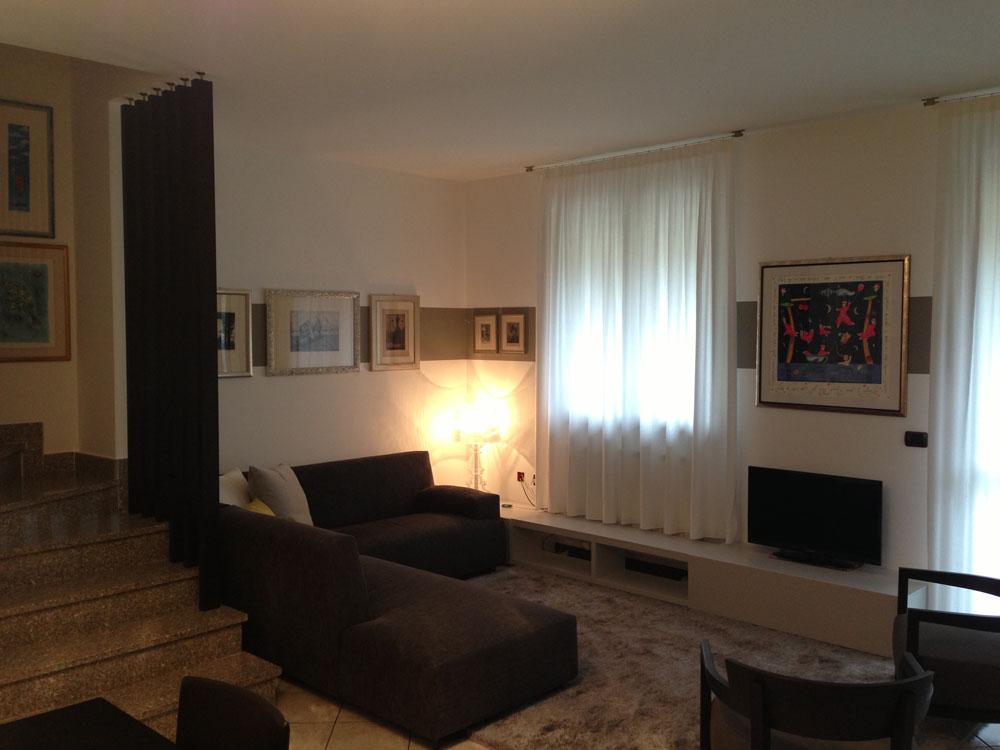 Soggiorno vintage moderno soggiorno classico with for Arredamento tinello moderno