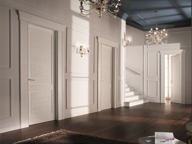 Esempi arredamento di lusso per interni ideati da restelli arredamenti - Finestre stile americano ...
