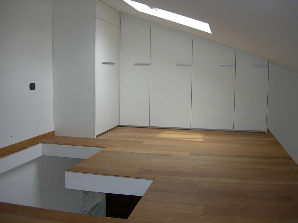 Idee mobili su misura per mansarde soppalchi e piccoli spazi - Mobili su misura mansarda ...